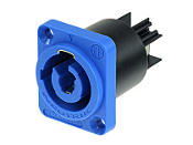 POWERCON PANEL INLET- BLUE- NAC3MPA