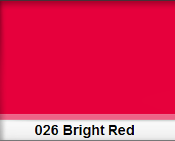 LEE HT 026 BRIGHT RED