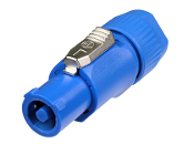 POWERCON CABLE MOUNT BLUE-NAC3FCA